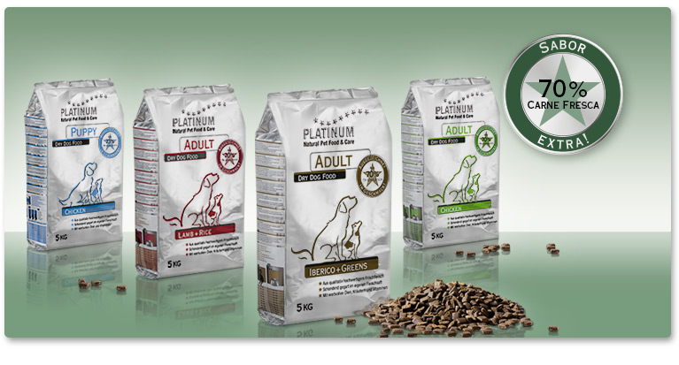 Our products – PLATINUM dry food
